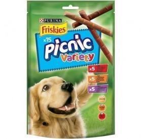 Purina® Friskies® Picnic Variety /меки лакомства за израснали кучета с 3 различни вкуса/-126гр