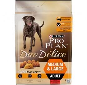 Purina® Pro Plan® Duo Délice Medium&Large Adult with Beef /храна за израснали кучета средни и големи породи с говеждо месо/-2,5кг