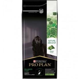 Pro Plan Nature Elements Balanced Start Medium&Large Puppy /Храна За Подрастващи Кученца Средни И Големи Породи С Богато Съдържание На Агнешко Месо Спанак И Рибено Масло/-2кг