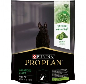 Pro Plan Nature Elements Balanced Start Small&Mini Puppy /Храна За Подрастващи Кученца Дребни Породи С Богато Съдържание На Агнешко Месо Спанак И Рибено Масло/-700гр