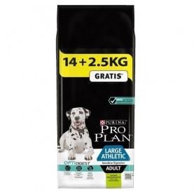 Pro Plan Large Athletic Adult Sensitive Digestion With Optidigest /Храна За Израснали Кучета От Едри Породи С Чувствителна Храносмилателна Система/-14+2,5кг ГРАТИС