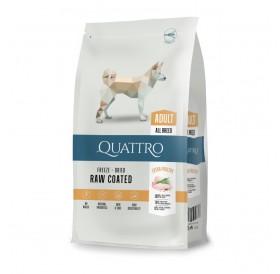 Quattro Adult Poultry All Breed /Пълноценна Храна За Израснали Кучета От Всички Породи С Птиче Месо/-12кг