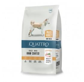 Quattro Maxi Adult Poultry /пълноценна храна за израснали кучета от големи породи с птиче месо/-12кг