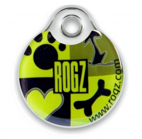 Rogz id-Tagz Lime Juice Small /адресник за куче/-Ø27мм
