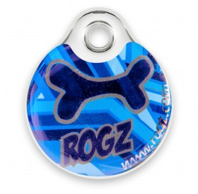 Rogz id-Tagz Navy Zen Small /адресник за куче/-Ø27мм
