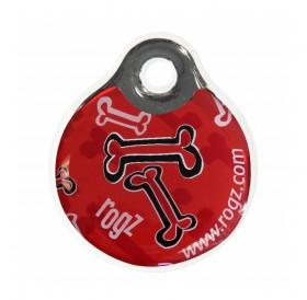 Rogz id-Tagz Red Bone Large /адресник за куче/-Ø34мм