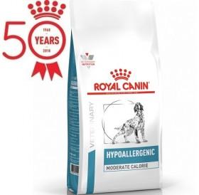 Royal Canin® Hypoallergenic Moderate Calorie Dog /храна за кучета с наднормено тегло възрастни или кастрирани проявяващи алергии/-14кг