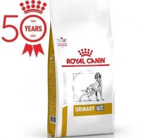 Royal Canin Urinary U/C Dog /Храна За Израснали Кучета При Лечение И Профилактика На Уратна И Цистинова Уролитиза/-7,5кг