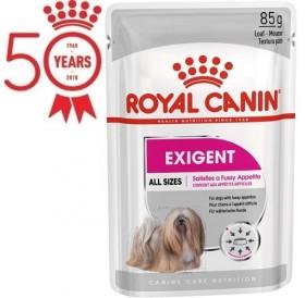 Royal Canin Exigent Mousse /харна за израснали кучета с капризен апетит/-12x85гр