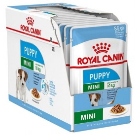 Royal Canin Mini Puppy /Храна За Подрастващи Кученца Дребни Породи/-12x85гр