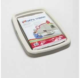 Savic® Puppy Trainer Starter Kit Medium /поставка+абсорбиращи подложки (памперси) 45х30см/-48х35х4см