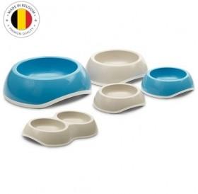 Savic Plastic Bowl Delice 1 /пластмасова купичка с гумиран пръстен против приплъзване 0,3л/-Ø11,5см