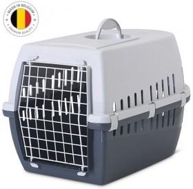 Savic® Trotter 3 /пластмасова транспортна чанта/-60,5x40,5x39см