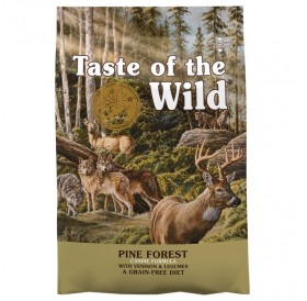 Taste Of The Wild Pine Forest Canine Recipe with Venison&Legumes /Храна За Израснали Кучета С Месо От Елен И Бобови Култури/-12,2кг