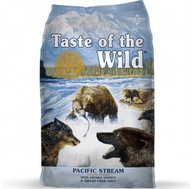 Taste of the Wild® Pacific Stream Canine Recipe with Smoked Salmon /храна за израснали кучета с месо от пушена сьомга/-13кг