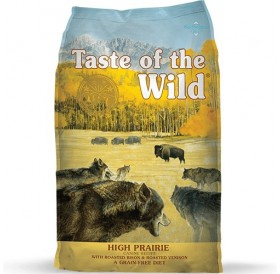 Taste of the Wild® High Prairie Canine Recipe with Roasted Bison&Roasted Venison /храна за израснали кучета с бизонско и еленко месо/-13кг