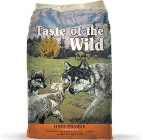 Taste of the Wild High Prairie Puppy Recipe with Roasted Bison&Roasted Venison /храна за подрастващи кученца с бизонско и еленко месо/-12,2кг