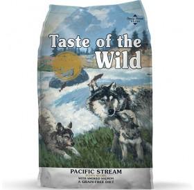 Taste of the Wild Pacific Stream Puppy Recipe with Smoked Salmon /храна за подрастващи кученца с месо от пушена сьомга/-12,2кг