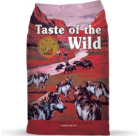 Taste of the Wild Southwest Canyon Canine Recipe with Wild Boar /храна за израснали кучета с месо от диви прасета/-12,2кг