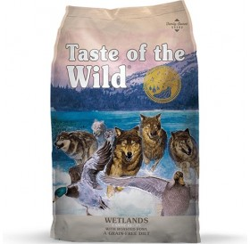 Taste of the Wild Wetlands Canine Recipe with Roasted Fowl /храна за израснали кучета с микс от птичи меса/-12,2кг