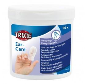 Trixie Ear-CareSingle-Use Finger Pads /Напръстник За Почистване На Уши/-50бр