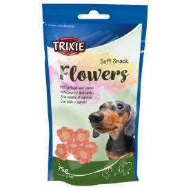 Trixie Soft Snack Flowers /лакомства за куче с агнешко и пилешко/-75гр