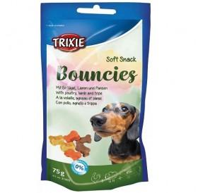 Trixie Snack Bouncies /лакомства за куче с пилешко, агнешко месо и шкембе/-75гр