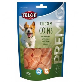Trixie PREMIO Chicken Snack Coins /лакомства за куче пилешки монети/-100гр