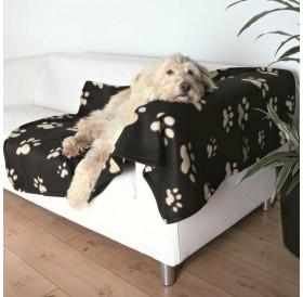Trixie Barney Blanket Black /Поларено Одеало/-150x100см