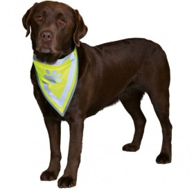 Trixie Safety Neckerchief L-XL /Светлоотразителна Кърпа За Куче/-43-60см