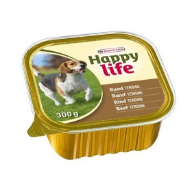 Versele-Laga Happy Life Adult Terrine Beef /терини от говеждо месо за израснали кучета/-300гр
