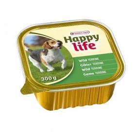 Versele-Laga Happy Life Adult Terrine Game /терини от дивеч за израснали кучета/-300гр