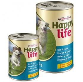 Versele-Laga Happy Life Adult Chicken&Hearts in Gravy /храна за израснали кучета с пилешко месо и сърца/-1,24кг