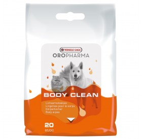 Versele-Laga Oropharma Body Clean /почистващи кърпички за кучета и котки/-20бр