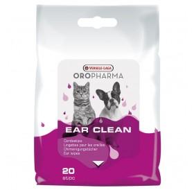 Versele-Laga Oropharma Ear Clean Wipes /кърпички за уши напоени с лосион за ежедневна грижа/-20бр