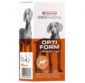 Versele-Laga Oropharma Opti Form Dog /таблетки за кучета с бирена мая обогатени с пребиотици/-100бр