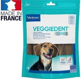 Virbac VeggieDent™ Medium /дентални ламели за кучета средна порода/-15бр