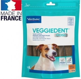 Virbac VeggieDent™ Small /дентални ламели за кучета дребна порода/-15бр