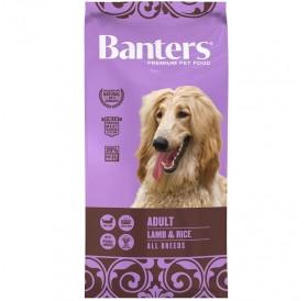 Banters Adult Lamb&Rice All Breeds /храна за израснали кучета с агнешко месо и ориз/-3кг