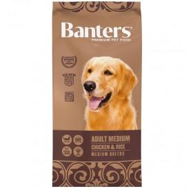 Banters Adult Medium Chicken&Rice /храна за израснали кучета средни породи с пилешко месо и ориз/-3кг
