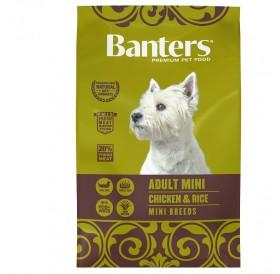 Banters Adult Mini Chicken&Rice /Храна За Израснали Кучета Дребни Породи С Пилешко Месо И Ориз/-3кг