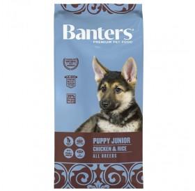 Banters Puppy/Junior Chicken&Rice All Breeds /храна за подрастващи кученца с пилешко месо и ориз/-3кг