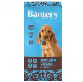 Banters Puppy/Junior Lamb&Rice All Breeds /храна за подрастващи кученца с агнешко месо и ориз/-3кг
