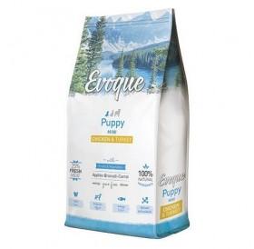Evoque® Puppy Mini Chicken&Turkey /храна за подрастващи кученца дребни породи с пилешко и пуешко месо/