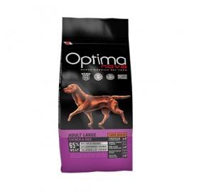 Optima nova Adult Large Chicken&Rice /храна за израснали кучета големи породи с пилешко месо и ориз/-12кг