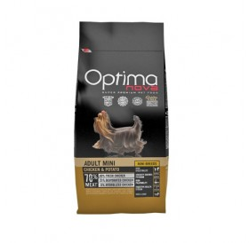Optima nova Adult Mini Chicken&Potato /храна за израснали кучета дребни породи с пилешко месо и картофи/