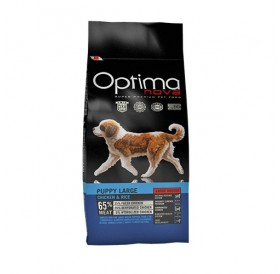 Optima nova Puppy Large Chicken&Rice /храна за подрастващи кученца големи породи с пилешко месо и ориз/