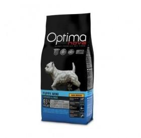 Optima nova Puppy Mini Chicken&Rice /храна за подрастващи кученца дребни породи с пилешко месо и ориз/