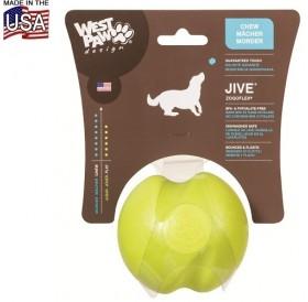 West Paw® Design Jive Dog Ball L /играчка за куче отскачаща топка/-Ø8см
