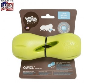 West Paw® Design Qwizl Treat Toy S /интерактивна играчка за куче/-14см
